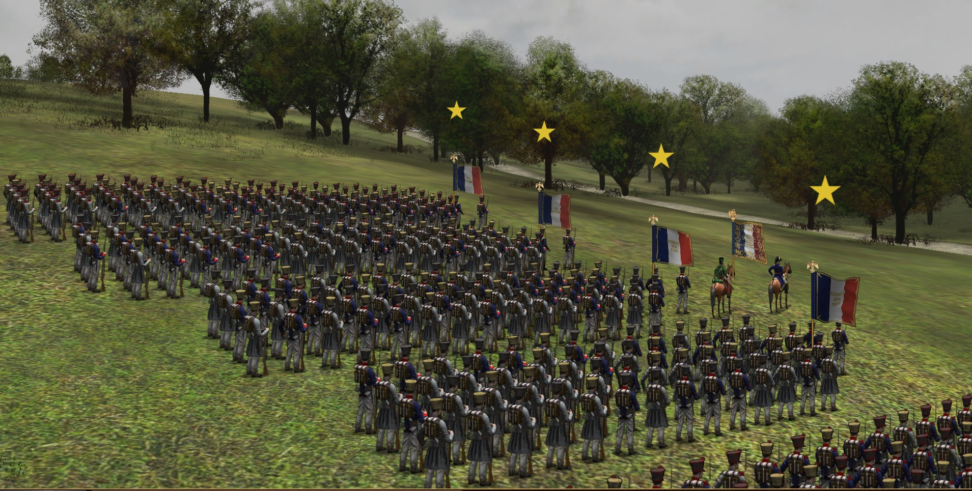 Scourge of War Wavre Features