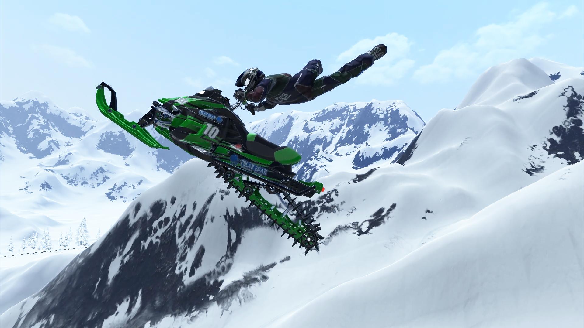 Snow Moto Racing Freedom Features