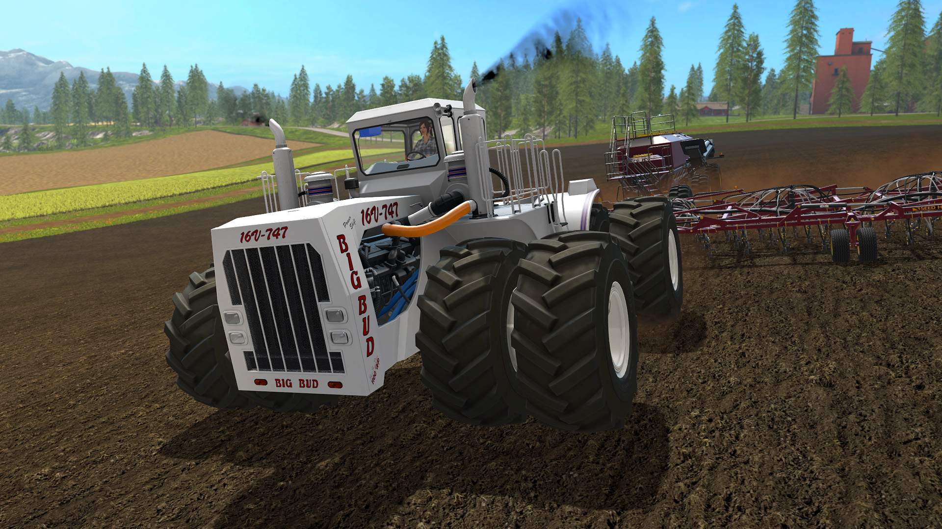 Farming Simulator 17 Big Bud Download For Free