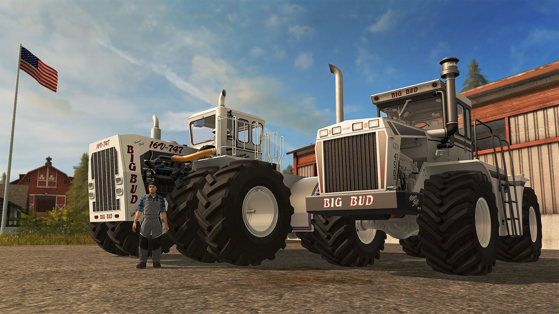 Farming Simulator 17 Big Bud Setup Free Download
