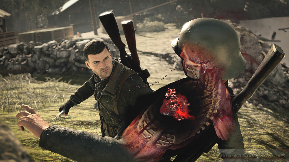 Sniper Elite 4 Features