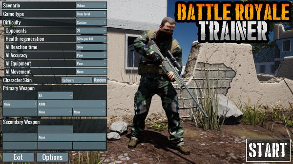 Battle Royale Trainer Free Download