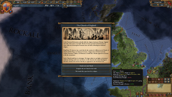 Europa Universalis IV Rule Britannia Free Download