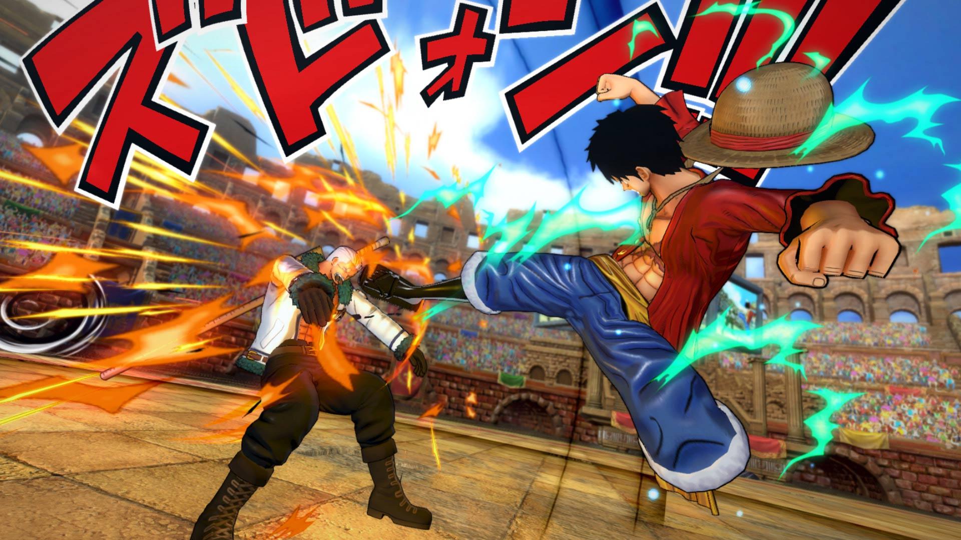One Piece Burning Blood Free Download