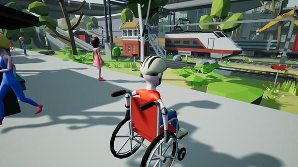 Wheelchair Simulator Free Download